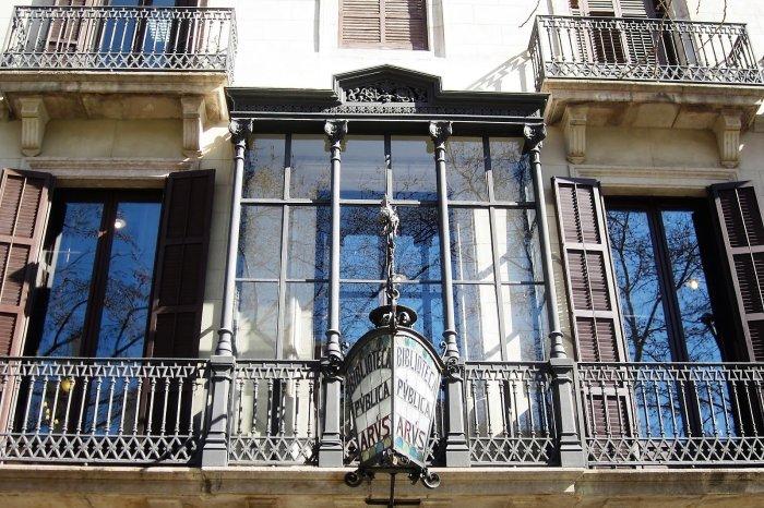 Масонская библиотека Россенда Аруса в Каталонии. / Фото: www.oddviser.com