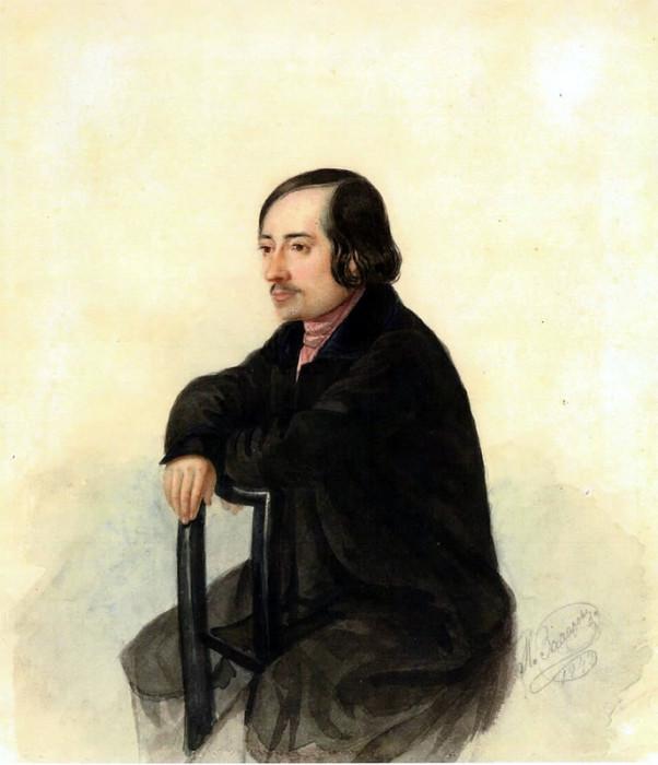 Николай Алексеевич Некрасов, И. Д. Захаров. 1843. / Фото: www.liveinternet.ru