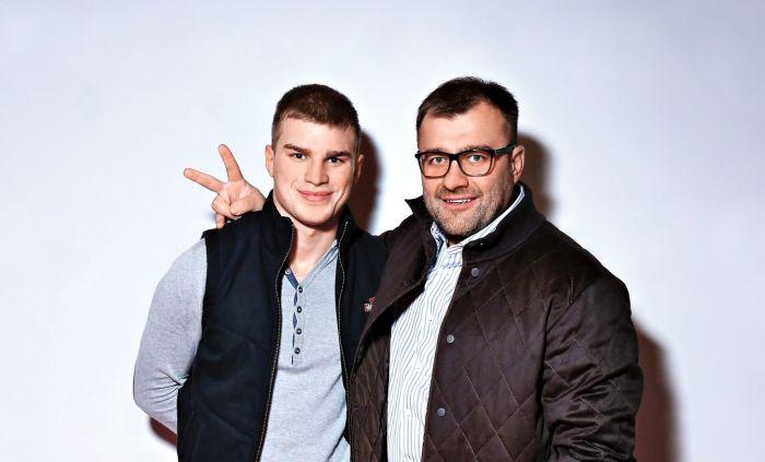 Михаил Пореченков и его сын Владимир. / Фото: www.alabanza.ru