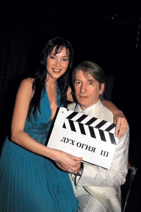 Александр Абдулов и Ирина Дмитракова. / Фото: www.7days.ru