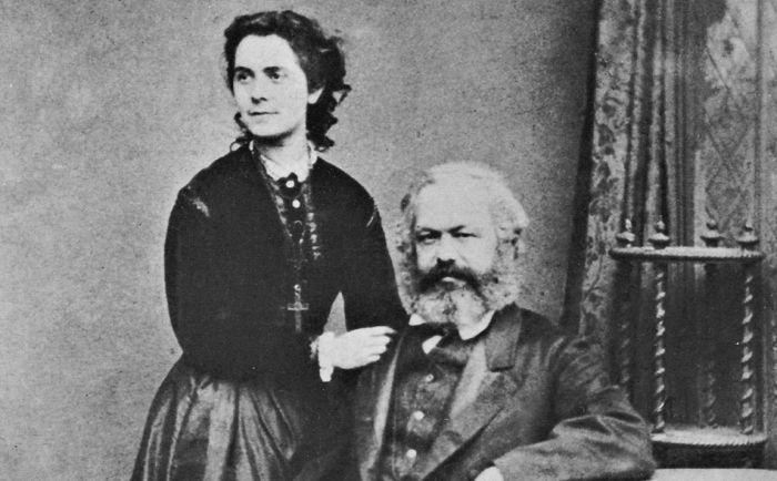 Карл Маркс и Женни Фон Вестфален. / Фото: www.nybooks.com