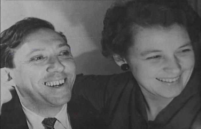 Юрий Никулин и Татьяна Покровская. / Фото: www.vevoclip.com