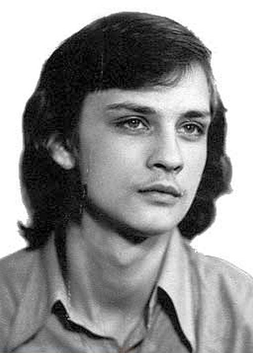 Первые фотопробы Александра Домогарова, 1978 г. / Фото: www.domogarov.ru