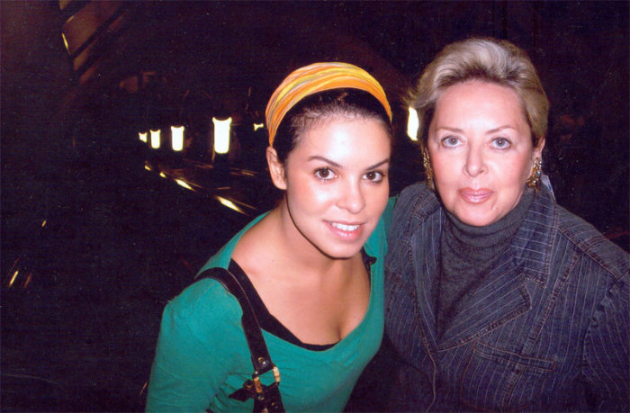 Наталья Шляпникофф с дочерью Катей. / Фото: www.rodionnahapetov.com