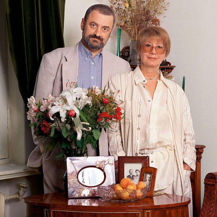 Григорий и Любовь Горины. / Фото: www.7days.ru
