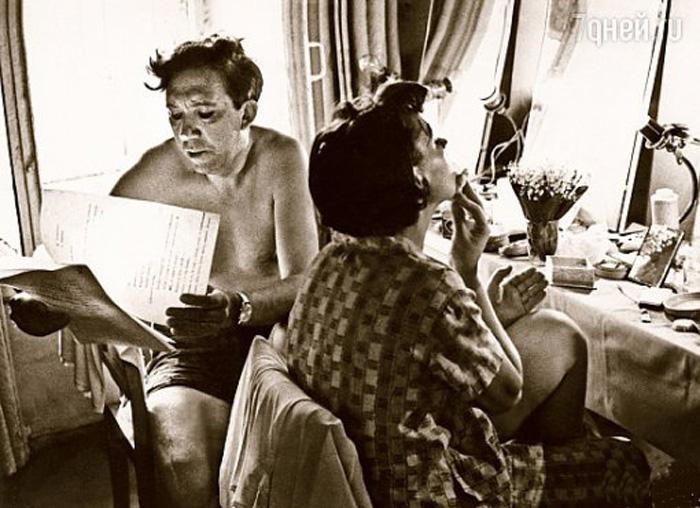 В гримерке, одной на двоих. / Фото: www.moviez.su