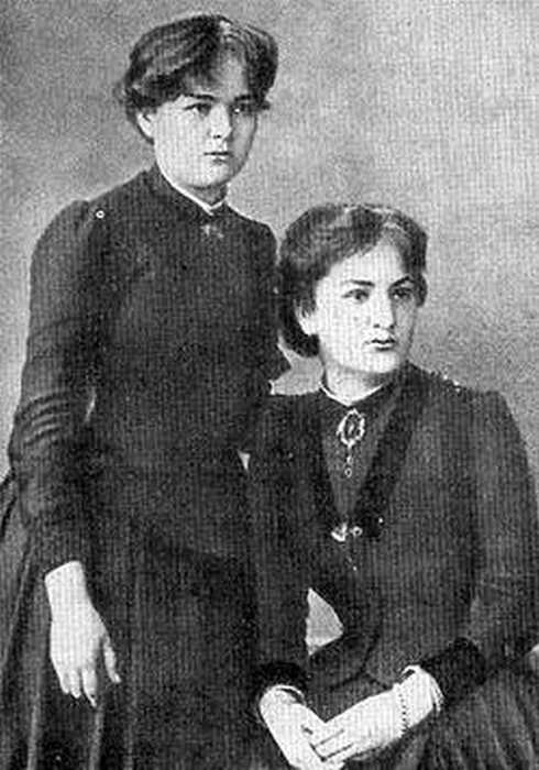 Мария с сестрой Броней./ Фото: www.news.tut.by