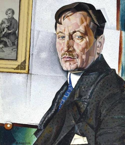 «Портрет А.Н. Тихонова». 1922г.  Ю.Анненков