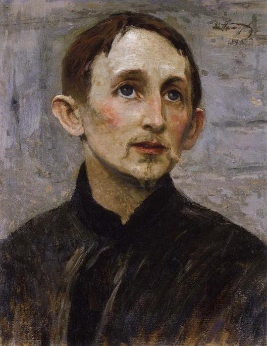 М. Нестеров. «Портрет Аполлинария Васнецова».
