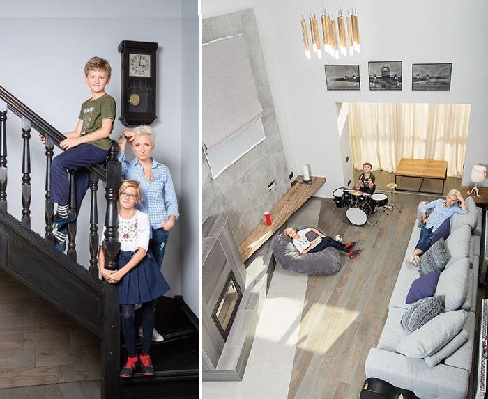 Репетиционная комната в доме Арбениной. | Фото: wday.ru.