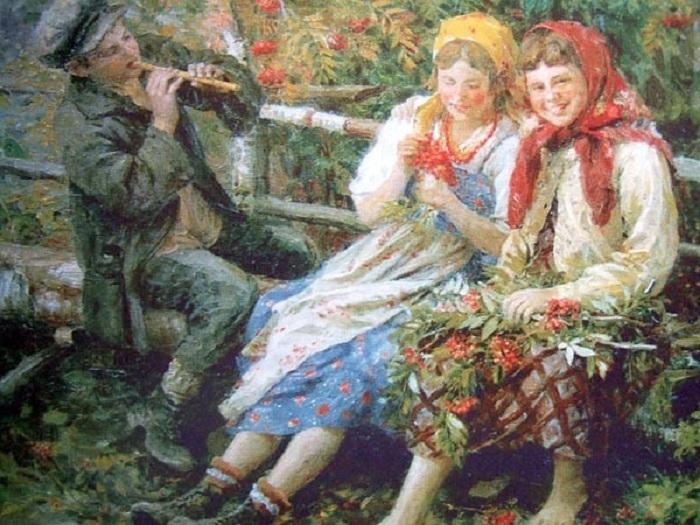 «Подружки». Автор: Федот Сычков.