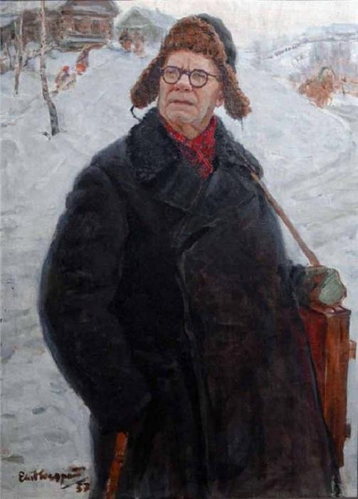 Автопортрет. Ф.В. Сычков.