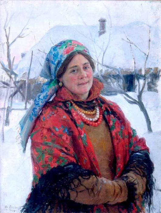 Молодуха. (1928). Автор: Федот Сычков.