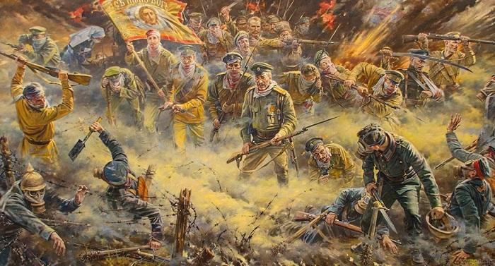 «Мы – русские, с нами Бог». Автор: Павел Рыженко.