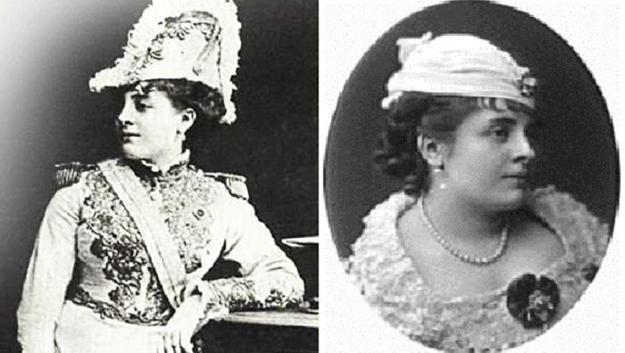 Анна Мари Луиза Дамьен (1849-1911).