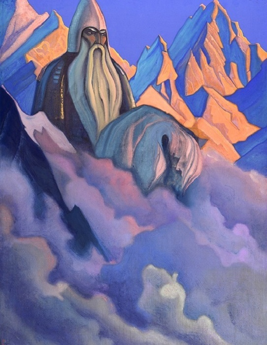 Н.К. Рерих. «Святогор». (1942).