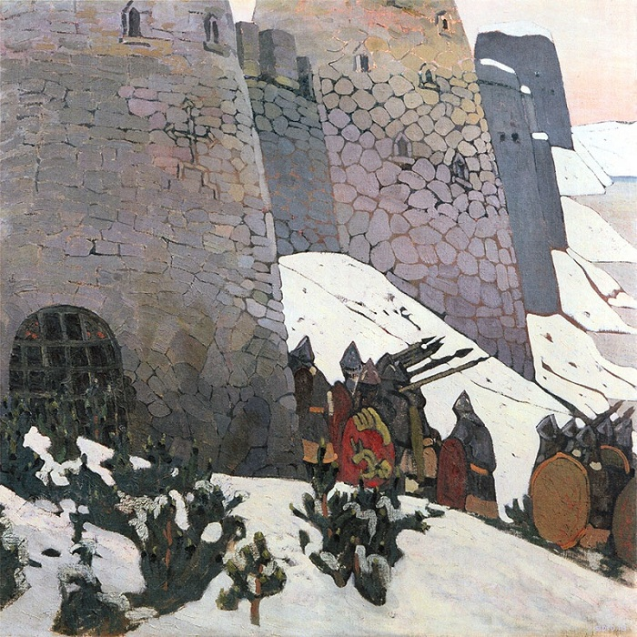 Н.К. Рерих. «Дозор». (1903).