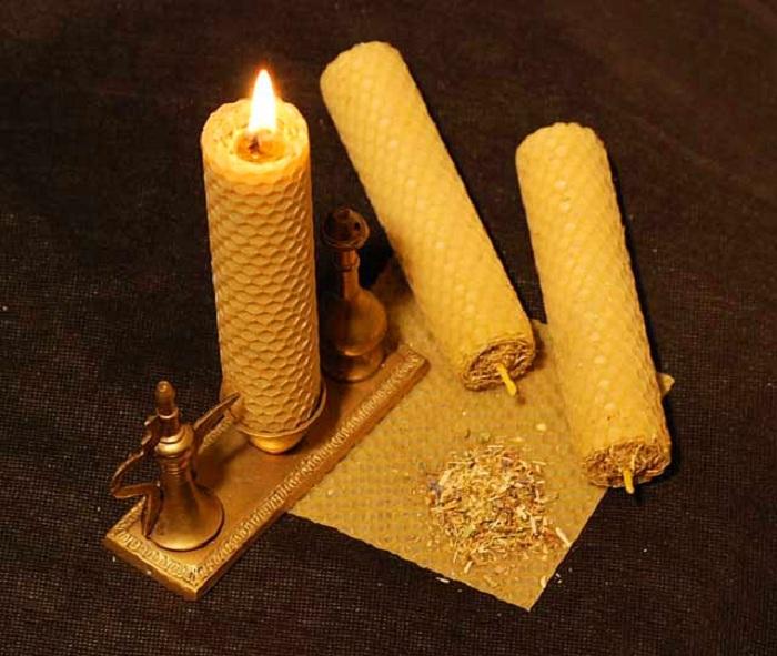 Волшебная сила громничной свечи и сретенской воды.