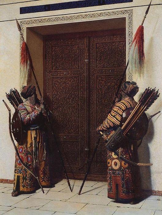 Двери Тамерлана (Тимура) . (1872). Автор: Василий Верещагин.