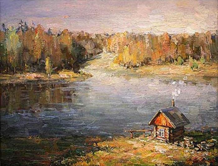 «Летний вечер». (2007 г.) Автор: Александр Лысенко.