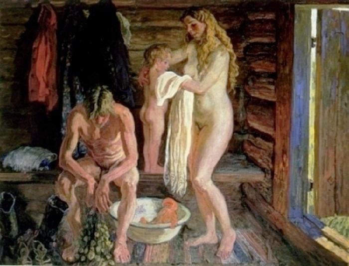 Алексей и Сергей Ткачевы. «Семейная баня».