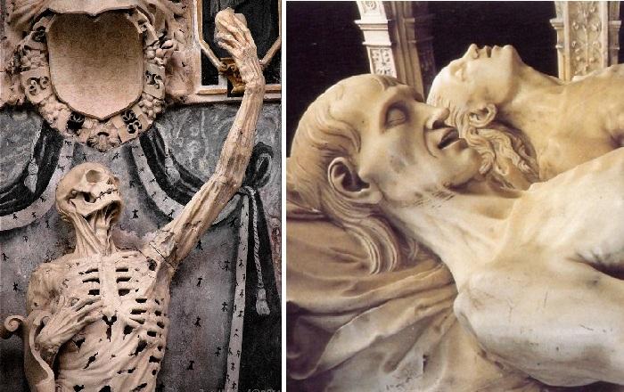 История одного надгробного памятника, или как наши предки увековечивали память об усопших в жутких скульптурах.