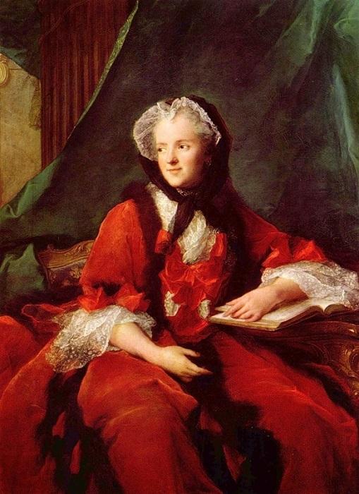 Портрет королевы Марии Лещинской. Автор: Натье Жан-Марк.