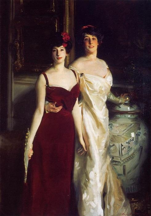 Энни и Бетти, Дочери Ашера и г-жи Вертхаймер (1901). Автор: Сингер Сарджент.