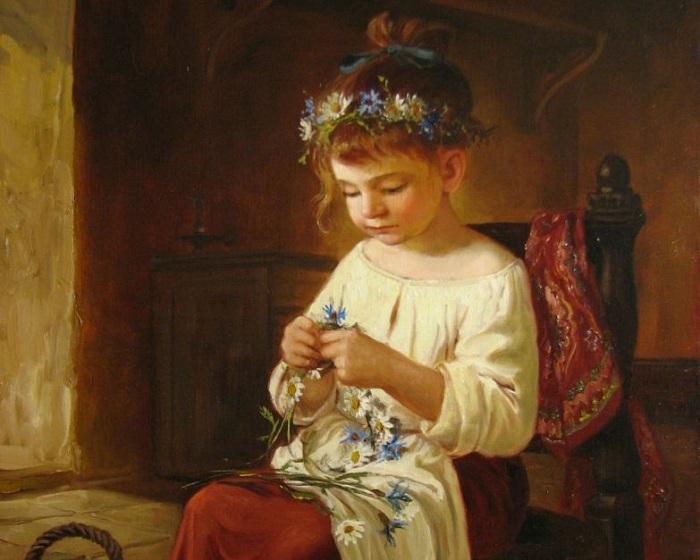Маленькая девочка. Автор: Андрей Шишкин.
