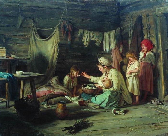 Выздоравливающая. (1889). Автор: Кирилл Лемох.