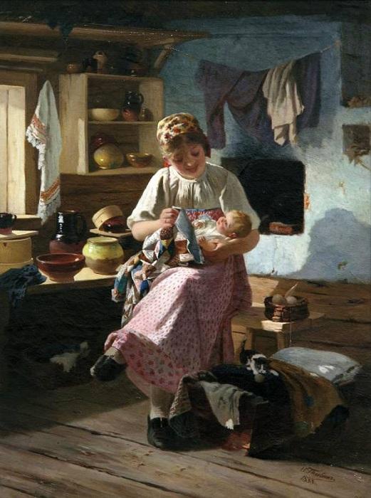 Первенец. (1888). Автор: Иван Певелин