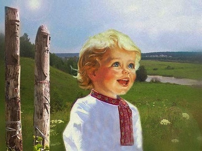 "Как рожали,""доделывали"", крестили, купали, кормили, и пеленали младенцев на Руси."