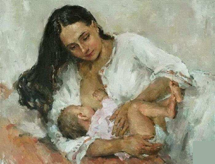 Мать и дитя. Автор: Еськов П.В.