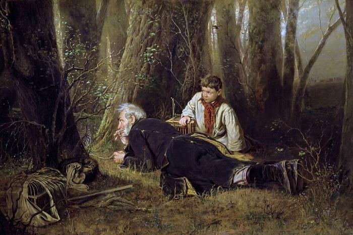 «Птицелов». Автор: В. Г. Перов.