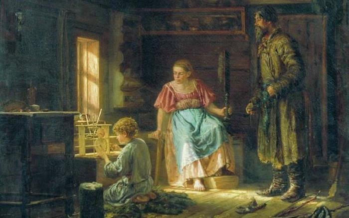 Мальчик-механик. (1871). Автор: Максимов Василий.