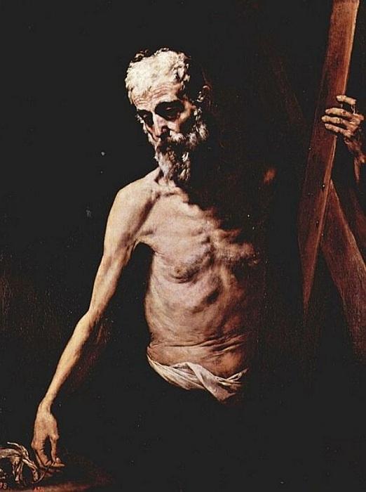 Апостол Андрей. Автор: Хусепе де Рибера.
