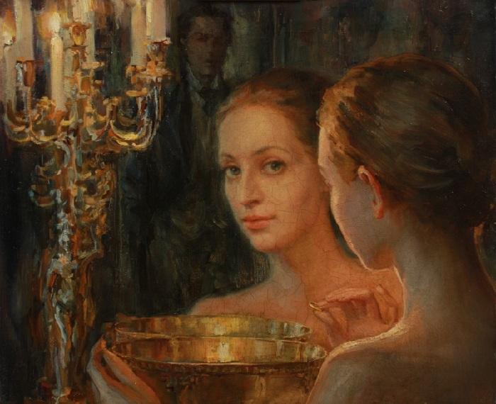 Гадание. (2010). Автор: Лучанова Полина Борисовна.