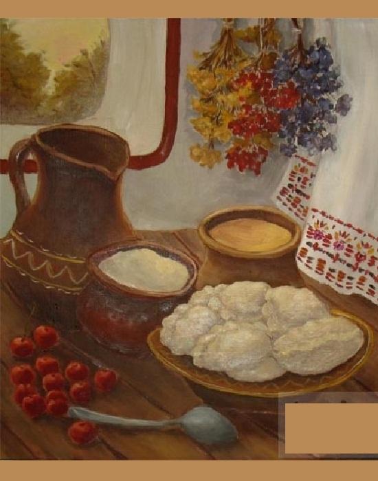 Вареники с вишнями. Автор: Шевчук Анна.