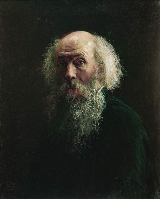 Николай Николаевич Ге. Автопортрет.