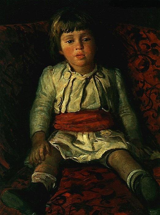 Портрет Николая Ге, внука художника. Автор: Николай Ге.