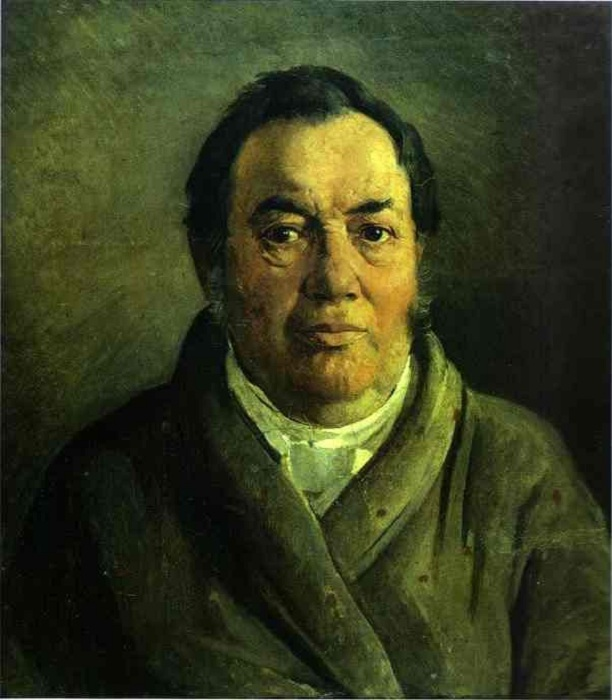 Портрет отца художника Николая Осиповича. Автор: Николай Николаевич Ге.