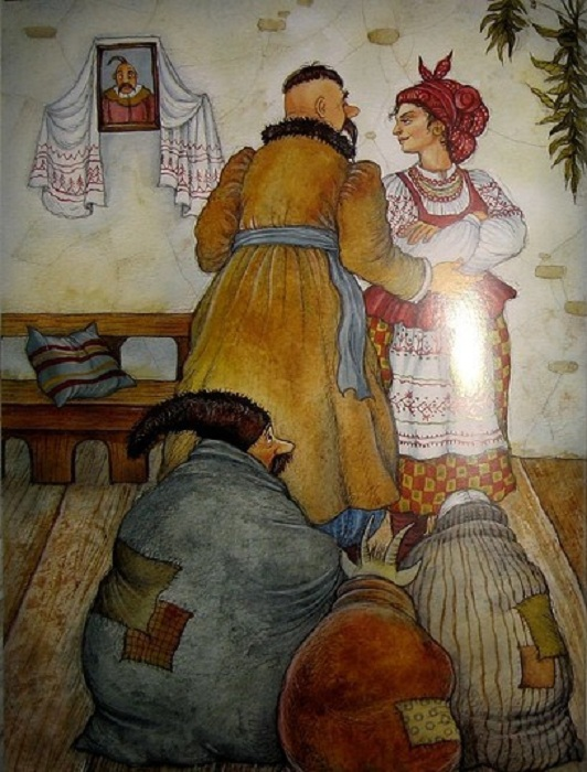 Иллюстрация к повести. Художник: Ирина Петелина.