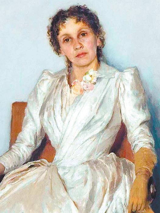 Портрет С.П. Кувшинниковой.