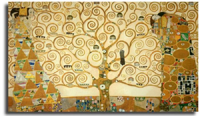Густав Климт, «Древо жизни».