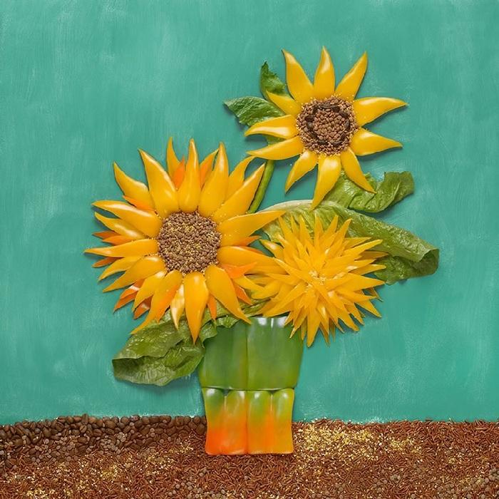Винсент Ван Гог, «Подсолнухи». Художественный проект от Татьяны Шкондиной.