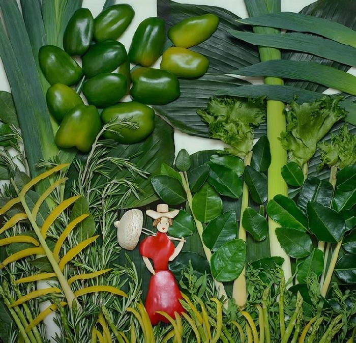 Анри Руссо, «Девушка в красном в лесу». Художественный проект от Татьяны Шкондиной.