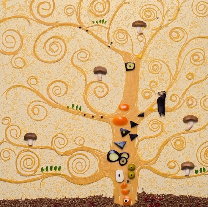 Густав Климт, «Древо жизни». Художественный проект от Татьяны Шкондиной.