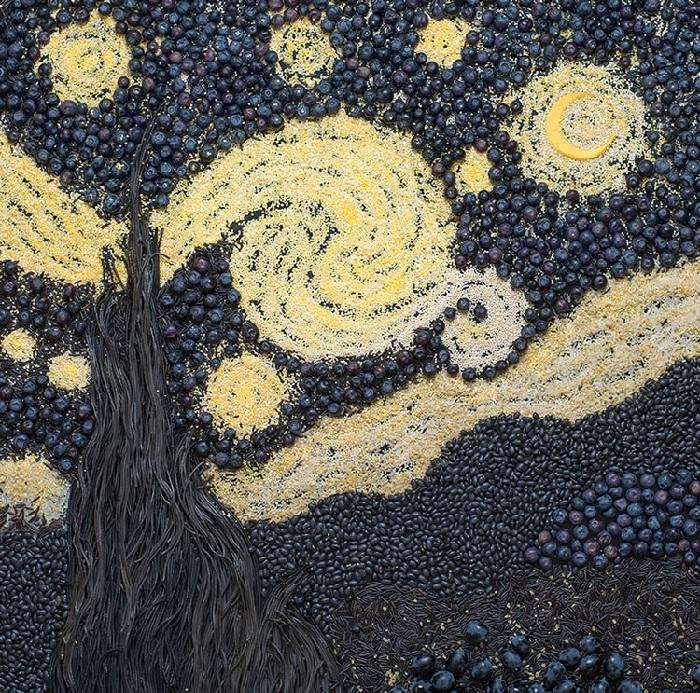 Винсент Ван Гог, «Звездная ночь».  Художественный проект от Татьяны Шкондиной.