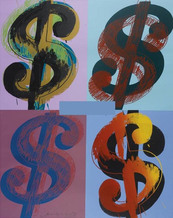 Энди Уорхол, «Знак доллара».