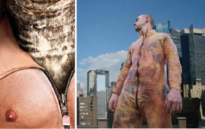 Аксессуары и одежда  из натуральной человеческой кожи.